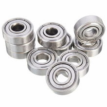 Buy 50pcs 608ZZ 8x22x7 3D printer Miniature Radial Bearings Deep Groove Ball Bearings Skateboard Scooter Roller Wheels for $12.48 in AliExpress store