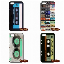 Retro Cassette Tape Vintage Cases Cover For iPhone 4 4S 5 5C SE 6 6S 7 Plus Galaxy J5 A5 A3 S5 S7 S6 Edge