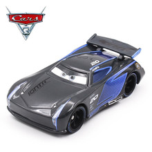 Disney Pixar Cars 3 Black Jackson Storm 1:55 Scale Mini Cars Model Toys For Children Christmas Gifts Figures Alloy Cars Toys(China)