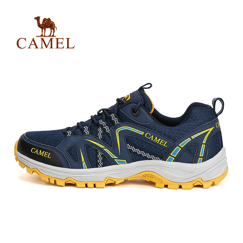 Camel Outdoor Men Walking Shoes Slip-resistant Shock Absorption Men outdoor shoes hiking shoes A612330345<br><br>Aliexpress