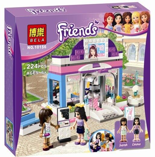 Bela 10156 224Pcs Friend Series Butterfly Beauty Shop Model Building Kit Blocks Bricks Girl Toy Lepin Kazi Bela Sluban 3187<br><br>Aliexpress