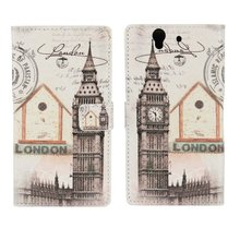 Buy Sony Xperia Z C6603 Z1 Cases Cover Coque Wallet Leather Big Ben Tower Phone Bag Etui Capinha Sony Xperia Z Z1 C6903 Case for $3.15 in AliExpress store