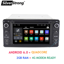 SilverStrong Android6.0 2din Car DVD Radio For MITSUBISHI OUTLANDER 2013-2016 GPS DVD For Outlander Pajero DAB+ Radio wifi