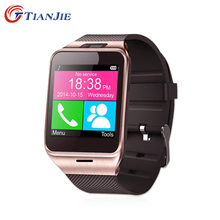 Smartwatch Gv18 Bluetooth Health Mp3 Waterproof Pedometer Wearable Device With SIM Card Mobile GSM Android Smart Watch Phone(China)