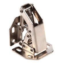 FSLH Furniture Cabinet 90 Degree Open Silver Tone Metal Concealed Hinge