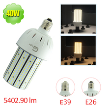 150W MH CFL Replacement E26 Edison Screw Base 40W LED Corn Bulb for Wall Sconces(China)