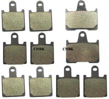 F+R Disc Brake Pads Set fit KAWASAKI 1400 ZZR ZZR 1400 ZX14R 2007 2008 2009 2010 2011 2012 2013 2006 - 2014