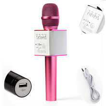 Made in China  most popular dynamic Android karaoke microphone sound condenser for SMART phone support U disk singing device mic