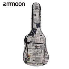 "600D Water-resistant 41"" Guitar Bag Oxford Cloth Newspaper Style Double Stitched Padded Straps Gig Bag Guitar Carrying Case(China)"