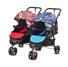 Multi-purpose twin baby stroller lightweight High Landscape Twins trolley separable folding several newborn baby stroller(China)