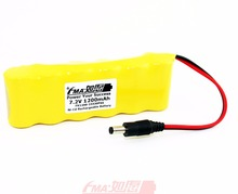 Ni-Cd Sub C 7.2V 1200mAh Floor Sweeper Rechargeable Battery 23430P6SB