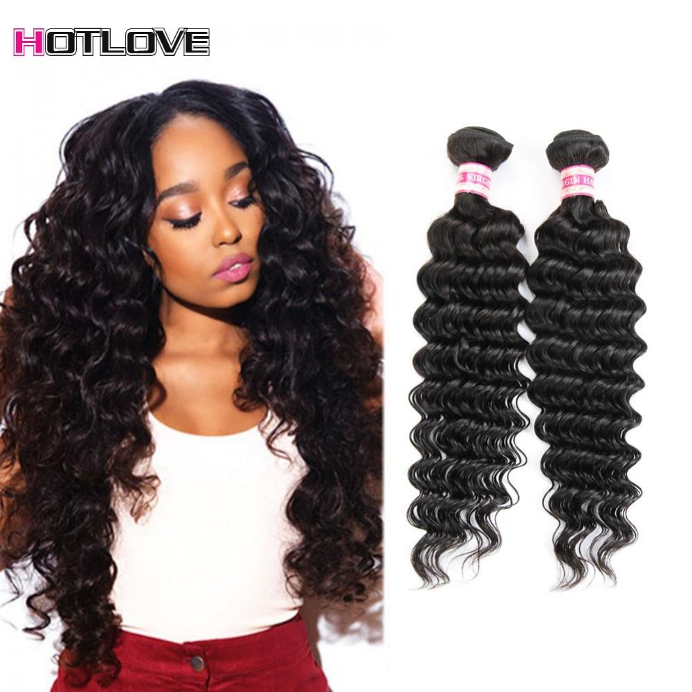 4 pcs/lot Peruvian Virgin Hair Deep Curly Grade 8a Unprocessed Virgin Hair Natural Black Deep Wave Human hair Bundles Weave <br><br>Aliexpress