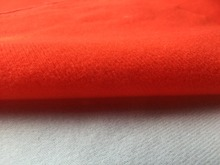 1 meter Red fleece fabric adhesive brushed woven fabric for DIY sewing Stuffed toys sofa furniture material Warp