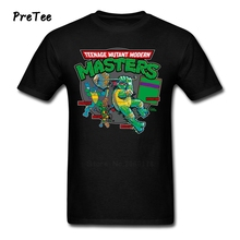 Teenage Mutant Modern Masters T Shirt Boy Pure Cotton Short Sleeve Round Neck Tshirt Adult Tops 2017 Personality T-shirt For Men