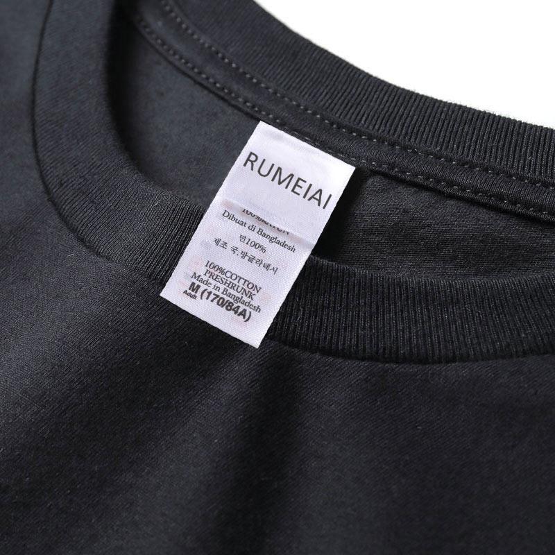 RUMEIAI Fashion Men T-Shirts Male US Size T shirt Homme Summer cotton Short Sleeve T Shirts Brand Men's Tee Shirts Man Clothes 10