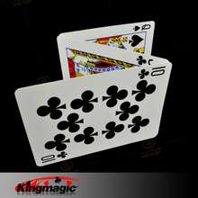 5pcs Magic Card Special Bicycle Card (Double Number) Magic Gimmick