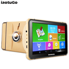 7 inch android GPS navigator vehicle GPS tablet android 4.4 Wifi + DVR Function+ AV-IN +Bluetooth+ FM+8GB + 512MB(China)