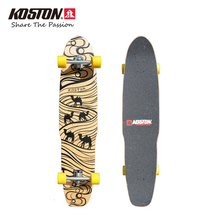 KOSTON Professional Longboard Completes Dancing Board Waliking Skateboard Long Skateboard 44 Inch 8ply Canada Maple Pressed Deck