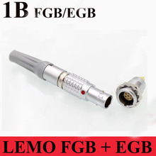 LEMO connector FGB EGB 1B 2 3 4 5 6 7 8 10 14 16 Pin Connector LEMO FGB.1B.3**.CLAD**Z EGB.1B.3**.CLL Two Keying ( 60 ) Plug(China)