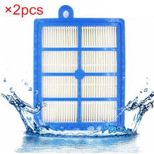 2PCS/lot hepa h13 filter H12 wiener filter, Hepa filters for philips FC9150 FC9199 FC9071 Electrolux Parts ZSC69FD2 ZSC6940 Etc.(China)