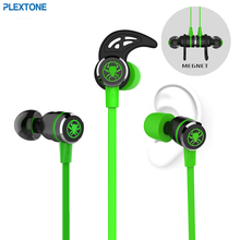 PLEXTONE G20 Gaming Earphone In-Ear Magnetic Stereo Earbuds Computer Headphone With Microphone Headset For Xiaomi Samsung Phones