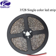 Nonwaterproof/Waterproof 300led/5M SMD3528 RGB LED Strip Flexible Diode Tape 12V LED Ribbon 60LED/M Ledstrip for Home Decoration