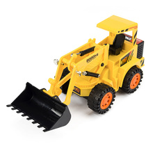 RC Truck Toys for boys Motorized Simulation Pace Car Pressure Road Vehicle Grasping Wooden Car Forklift Engineering Excavator(China)