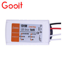 12V 1.5A 18W Power Supply AC/DC adapter transformers switch for LED Strip RGB ceiling Light bulb Driver Power Supply 90V-220V(China)