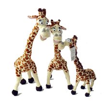 2014 New 30CM Long Neck Giraffe Stuffed Plush Toy Madagascar 3 Factory Price Free Shipping P018(China)