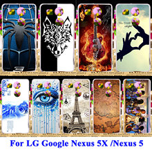 Silicon Hard PC Cases For LG Google Nexus 5X 5 8 Nexus5X E980 G3S G3 Mini G3 Beat S D724 X Cam K580 Housing Covers Shell Bags