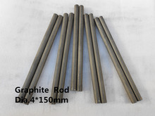 Buy graphite stir rod Dia.4*150mm & Graphite lubricative rod ,FREE SHIPPING 10pcs