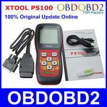 100% Original XTOOL PS100 Code Reader Update Online OBDII EOBD CAN-BUS PS 100 Diagnostic Scanner Multi Brand Cars Easy To Use