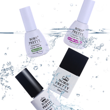 BORN PRETTY 1 Bottle 5ml 10ml Long Lasting No Wipe Top Coat & Base Coat UV Gel Nail Polish Soak Off UV Top Base Coat(China)