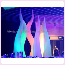 16ft giant inflatable cone,inflatable flame with led base,inflatable fire for party wedding decoration