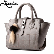 LOVAKIA Women Bag Lady Handbag OL Style Shoulder Bags Casual Zipper Messenger Bags PU Leather Bag Brand Name Tote Satchel Sac(China)