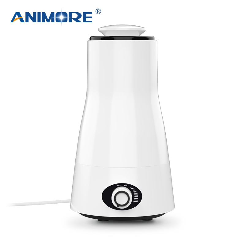 ANIMORE 2.5L Aroma Ultrasonic Humidifier Essent Oil Diffuse 110-240V LED Light Humidifier Essential Oil Diffuser Air Humidifier(China)