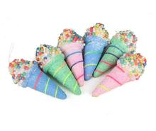 6pcs Multicolors Foam Ice Cream For Wedding Party Home Hotel Venue ChristmasTrees Hanging Decoration