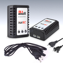 1pcs Hot RC B3 LIPO Battery Charger B3 7.4v 11.1v Li-polymer Lipo Battery Charger 2s 3s Cells for RC LiPo