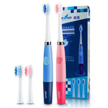 1 Piece Electronic Toothbrush + 2 PCS Brush Head Soft Oral Clean Beauty-whiting Sonic Toothbrush AAA Battery Toothbrush
