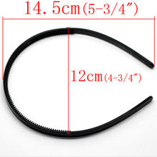 Headbands  Plastic hairbands Ladies/Girls/Kids Simple Style Hair Hoops Teeth candy color 3PCS