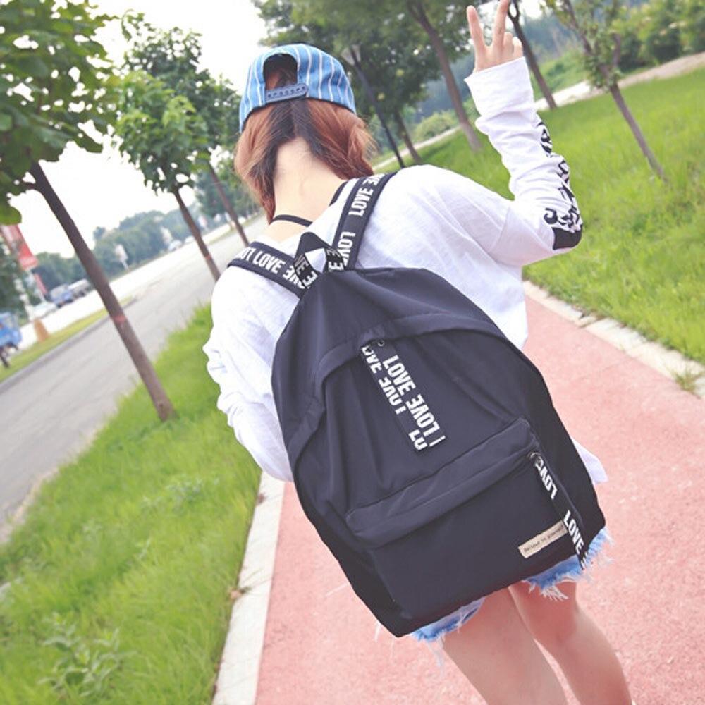 2016 New Fashion Girls Boys Letter Travel Backpack Satchel Women Shoulder Rucksack Large Capacity Bags School   Bag<br><br>Aliexpress