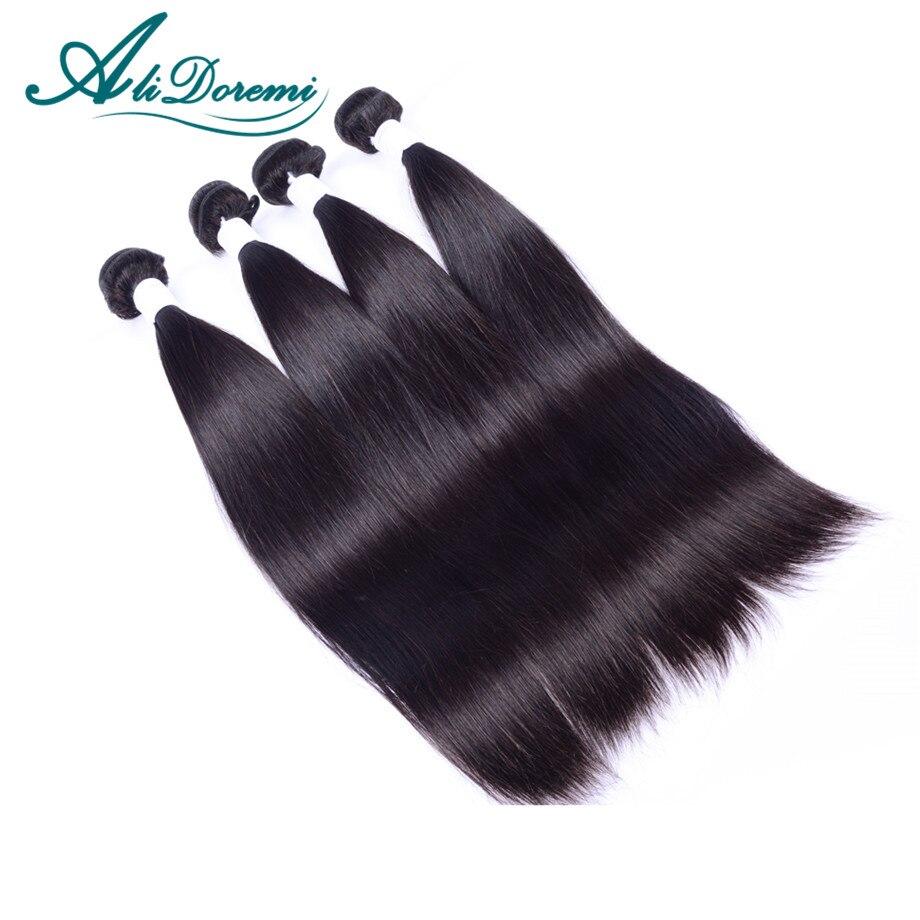 Peruvian Virgin Hair Straight 4Pcs Unprocessed Virgin Peruvian Straight Hair Alidoremi hair products  Cheap Human Hair<br><br>Aliexpress
