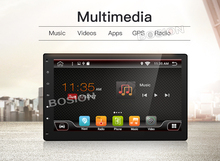 bosion 10.1 inch Universal 2 din Android 6.0 GPS Capacitive Touch Screen(China)