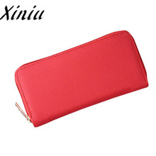 Xiniu Oxford womens wallets and purses for mobile phone zipper wallets clutch Wallet Card Holder Handbag bag female cloth#WS(China)