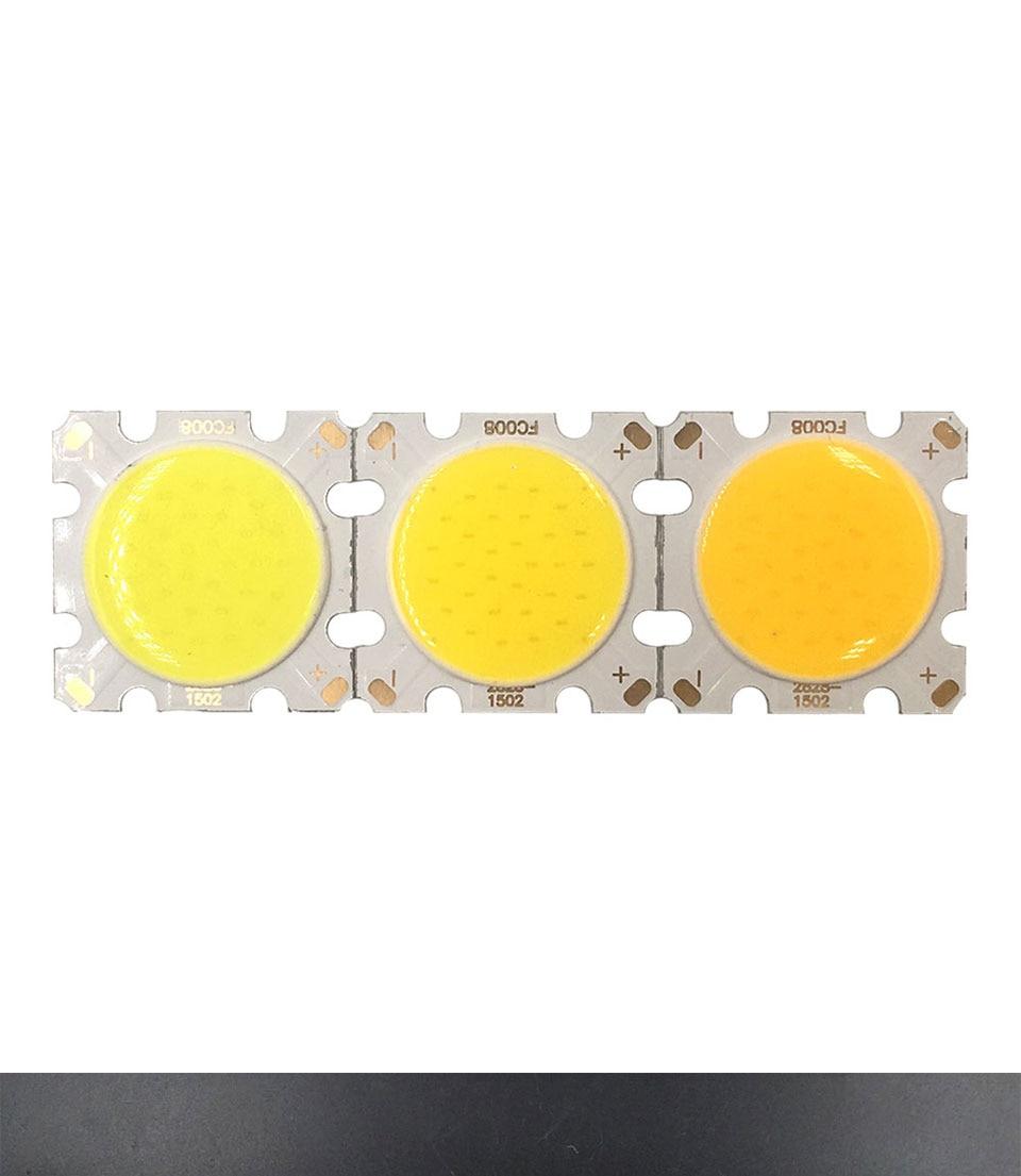 cob led 28mm square cob chip light bulb lamp 15W (3)