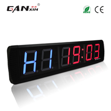 "[Ganxin]4"" Manufacturer Supply Low Price Led Crossfit Sports Timer Remote Control Stpwatch Function"