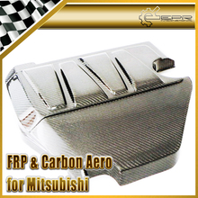 EPR Car Styling For Mitsubishi Evolution EVO 10 Carbon Fiber OEM Engine Cover Glossy Fibre Hood Interior Accessories Racing Trim(China)