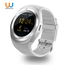 UWatch Y1 Bluetooth Smart Watch Sleep Monitor Pedometer With Whatsapp Facebook Men Women 1.54 inch Touch Screen For IOS Android