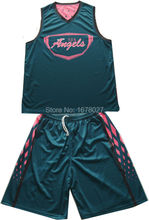 Popular custom made basketball shirts & shorts