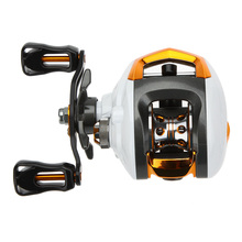 Lixada 12+1 Ball Bearings Baitcasting Reel Fishing Fly High Speed Fishing Reel with Magnetic Brake System Quality Fishing Reels